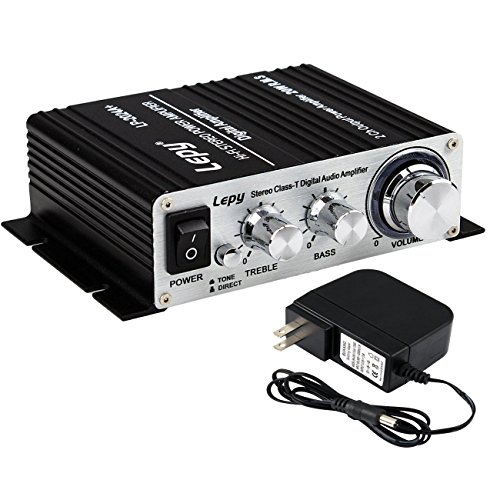 Lepy LP-2024A-HA LP-2024A+ Hi-Fi Audio Stereo Power Amplifier Car Amplifier, 3A Power Supply