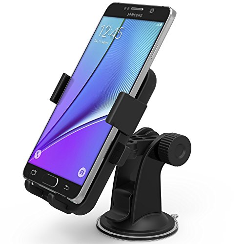 Car Mount, iOttie Easy One Touch XL Windshield Dashboard Car Mount Holder for Amazon Fire Phone and...