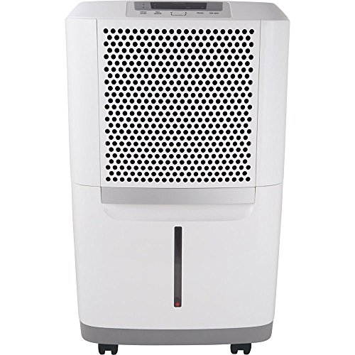 Frigidaire FAD704DWD Energy Star 70-pint Dehumidifier with Effortless Humidity Control, White...