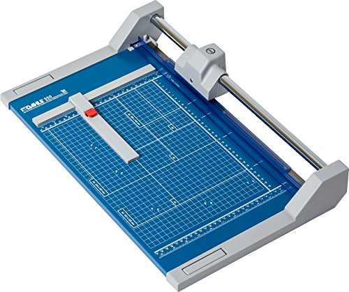 Dahle 550 Professional Rolling Trimmer, 14-1/8' Cut Length, 20 Sheet Capacity, Self-Sharpening,...