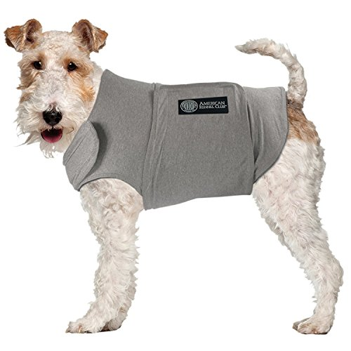 American Kennel Club Anti Anxiety and Stress Relief Calming Coat for Dogs, Medium