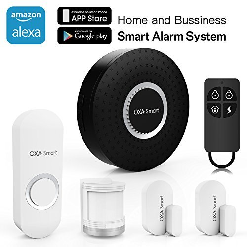 OXA Smart Wifi Home and Business Security Wireless Sensor Alarm system Door Bell DIY Kit with...