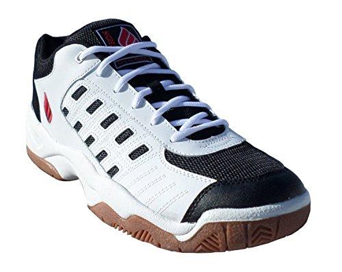 Ektelon NFS Classic II Men's Shoe (7)(White/Black/Red)