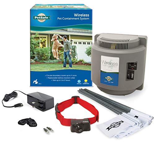 PetSafe Wireless Dog and Cat Containment System – from the Parent Company of Invisible Fence Brand...