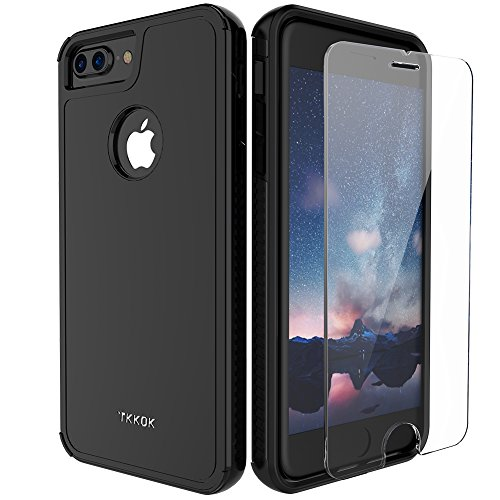 iPhone 7 Plus Case, Kuool Slim Hybrid Dual Layer Armor Rugged Heavy Duty Anti-Slip Full Protection...