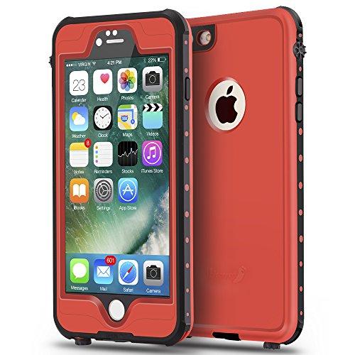 ImpactStrong iPhone 6 Plus / 6S Plus Waterproof Case [Fingerprint ID Compatible] Slim Full Body...