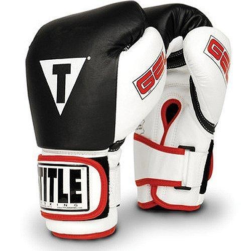 Title Gel World Bag Gloves, Black, X-Large