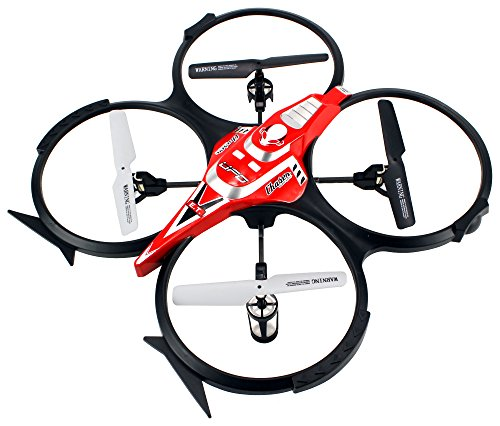 Velocity Toys Dream Camera Drone F182C Electric Remote Control RC Quadcopter Video Camera 2.4GHz...