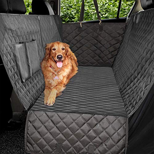Vailge Extra Large Dog Car Seat Covers, 100% Waterproof Dog Seat Cover for Back Seat with Zipper...