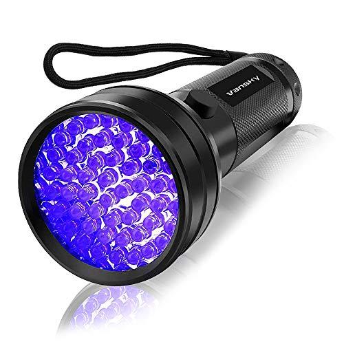 UV Flashlight Black light UV Lights , Vansky 51 LED Blacklight Pet Urine Detector For Dog/Cat...