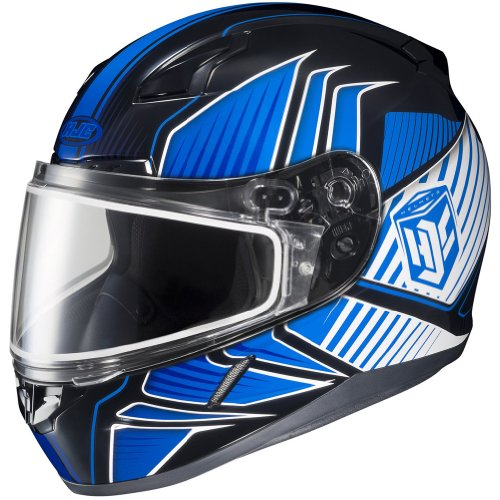 HJC Redline Men's CL-17 Snocross Snowmobile Helmet - MC-2 / Small