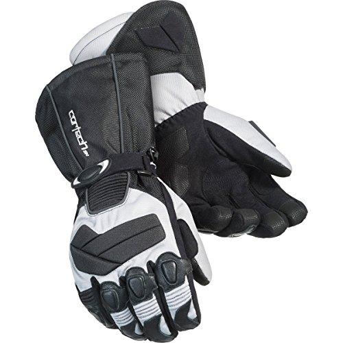 Cortech Cascade 2.1 Men's Snowboard Snowmobile Gloves - Silver/Black / Medium