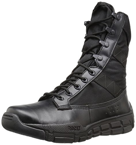 Rocky mens Ry008 Military and Tactical Boot, Black, 11.5 Wide US