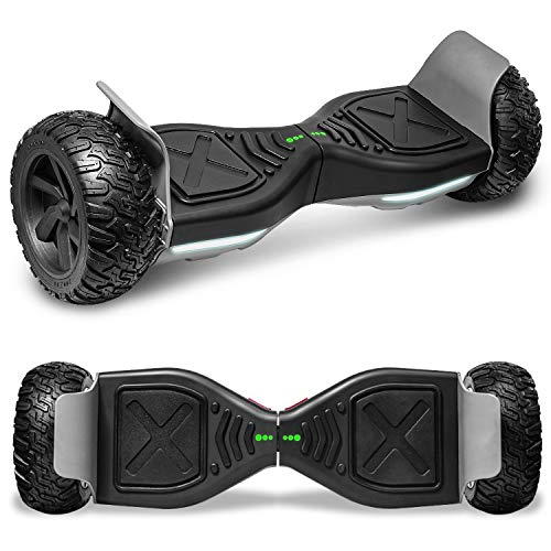cho All Terrain Hoverboard Off-Road Racing Tyre Hover Board Smart Self-Balancing Dual Motors...