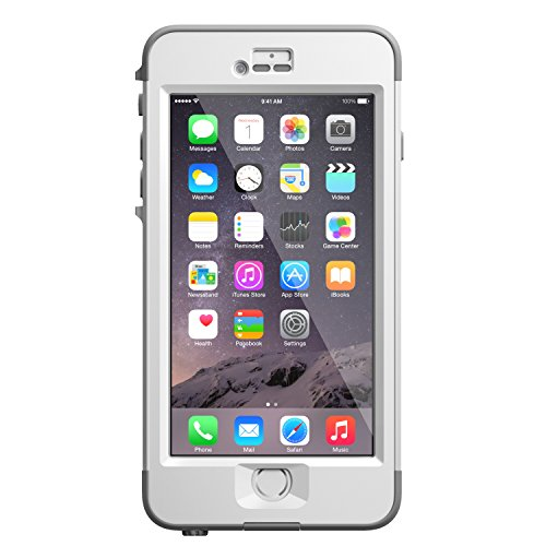LifeProof NÜÜD iPhone 6 Plus ONLY Waterproof Case (5.5' Version) - Retail Packaging - AVALANCHE...