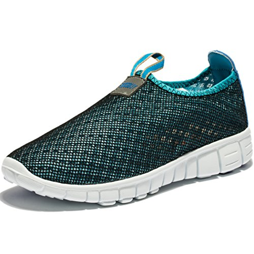 Men & Women Breathable Mesh Running Sport Tennis Outdoor Shoes,Beach Aqua,Athletic,Exercise,Slip...