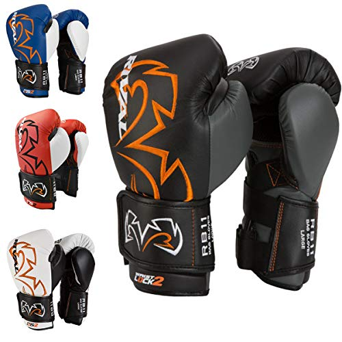 RIVAL Boxing RB11 Evolution Bag Gloves - Medium - Black