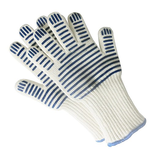 Oven Gloves, Scald-proof, Heat-insulated, Heat-resistant Microwave Oven / Oven Gloves, Great For...