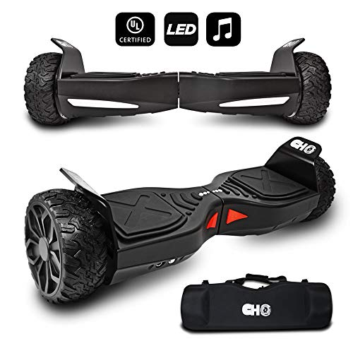 cho[TM All Terrain Rugged 6.5 Inch Wheels Hoverboard Off-Road Smart Self Balancing Electric Scooter...