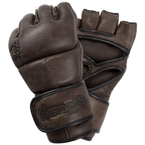 Hayabusa Kanpeki Elite 2.0 MMA Gloves, 4-Ounce/Medium, Brown