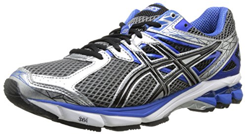 ASICS Men's GT-1000 3 Running Shoe,White/Black/Flash Yellow,12 M US