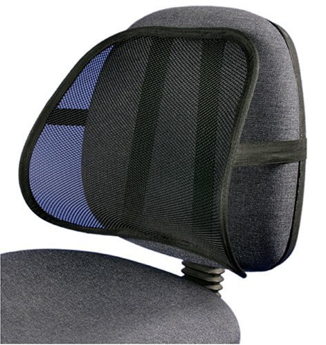 PrimeTrendz Cool & Breathable Mesh Support - Lumbar Support Cushion Seat Back Muscle Car Home Office...