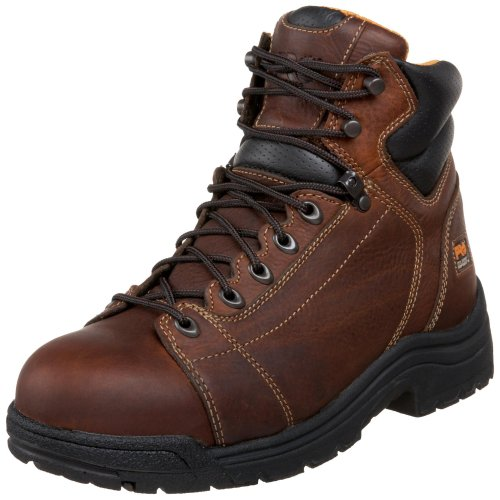 Timberland PRO Men's 50506 Titan 6' Lace to Toe Safety Toe Boot,Haystack Brown,10.5 M