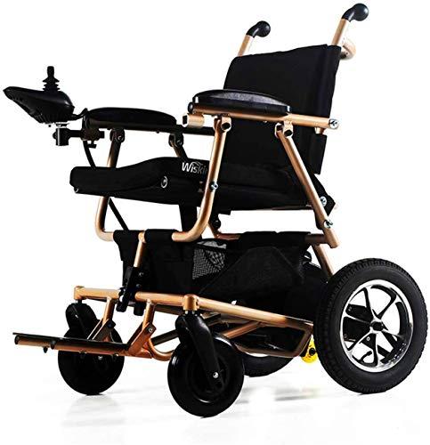 Mobility Aid Wheel Chair, Electric Wheelchair Wheelchair,Electric Wheelchair with Flip-Back - Ultra...