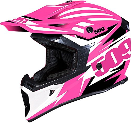 509 Tactical Snow Snowmobile Helmet - Lime - Green & White - 509-HEL-TLI-_