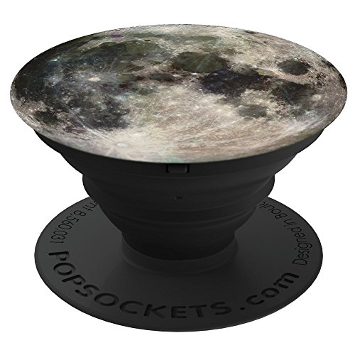 PopSockets: Collapsible Grip & Stand for Phones and Tablets - Moon