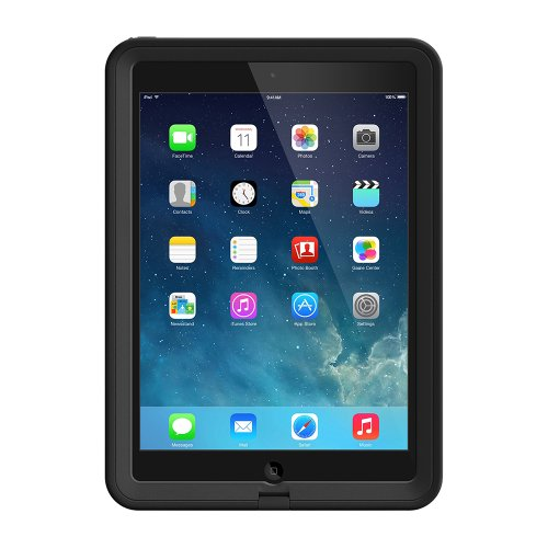 LifeProof FRĒ iPad Air (1st Gen Only) Waterproof Case - Retail Packaging - Black