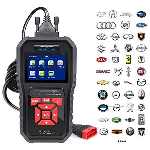 SEEKONE OBD2 Scanner Professional Car OBD II Scanner Auto Diagnostic Fault Code Reader Automotive...