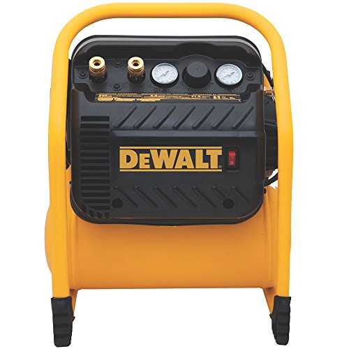 DEWALT DWFP55130 Heavy Duty 200 PSI Quiet Trim Compressor