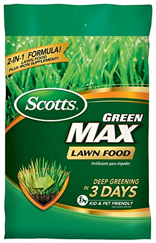 Scotts 44615A Green Max Lawn Food 5,000 sq. ft, 5M
