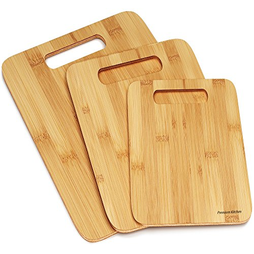 Bamboo Cutting Boards - Set of 3