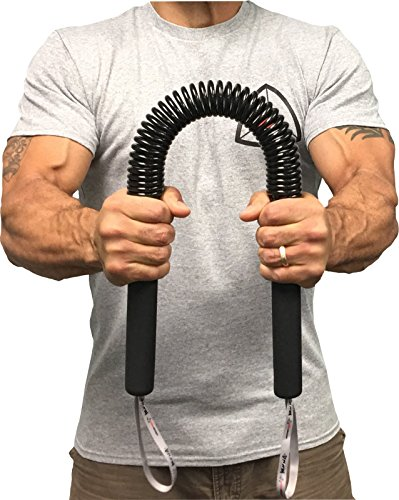 Core Prodigy Python Power Twister - Chest, Bicep Blaster, Shoulder and Arm Builder Spring Exercise