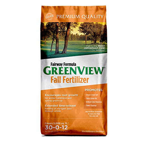 GreenView 2129185 Fall Lawn Fertilizer, Covers 5,000 sq. ft