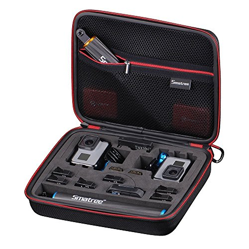 Smatree Carrying Case Compatible for GoPro Hero 8/7/6/5/4/3+/3/ GoPro Hero 2018(Cameras and...