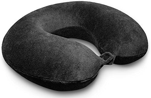 Kohbi Travel Pillow Ultimate Travel Bliss Memory Foam Neck Pillow - Airplane Pillow - Car Pillow