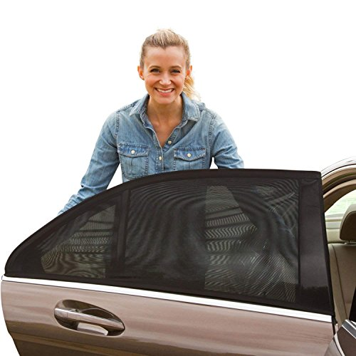 Shade Sox Universal Car Side Window Baby Sun Shade (2pc)   Protects Baby and Kids from the Sun  Fits...