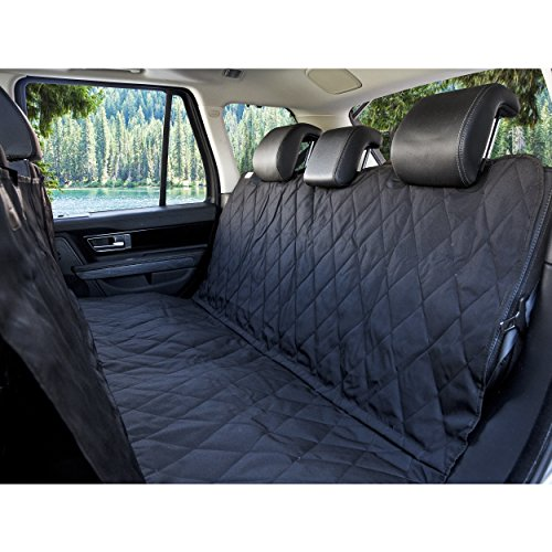 BarksBar Pet Car Seat Cover with Seat Anchors for Cars, Trucks and SUV's, Water Proof and Non-Slip...