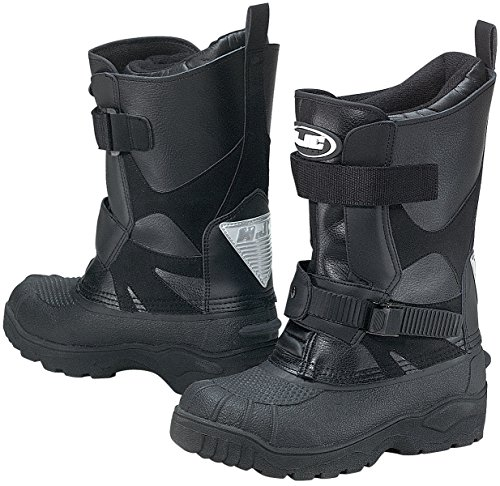 HJC Standard Men's Snow Boots (Black, Size 9)
