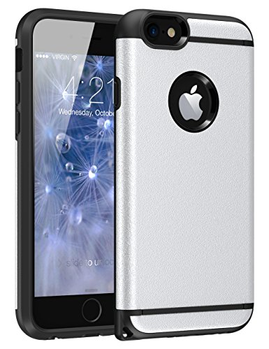 iPhone 6S Plus Case, iPhone 6 Plus Case, CHTech Fashion Double Layer Heavy Duty Protection Scratch...