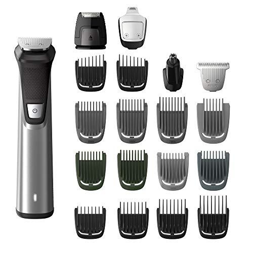 Philips Norelco Multigroom Series 7000 23 Piece Mens Grooming Kit, Trimmer for Beard, Head, Body,...