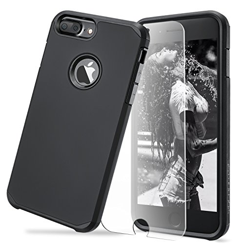 Toobe iPhone 7 Plus Case Ultra Armor Shock Absorbing Heavy Duty Dual Layer Case Protection With Free...