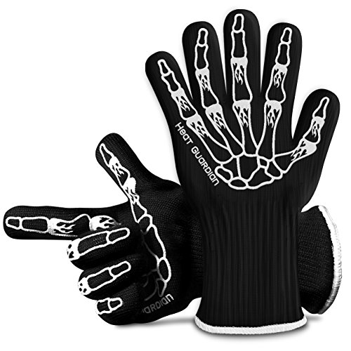 Heat Guardian Heat Resistant Gloves – Protective Gloves Withstand Heat Up To 932℉ – Use As...