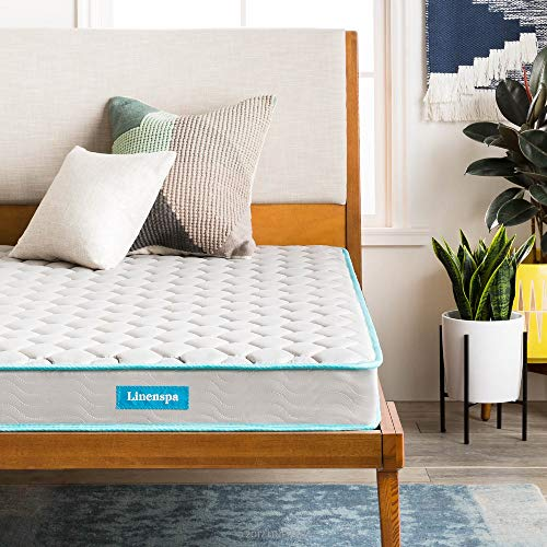 Linenspa 6-Inch Spring Mattress - Twin