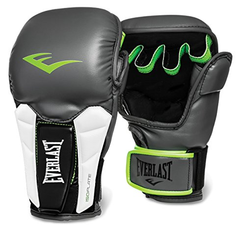 Everlast Prime MMA Universal Training Gloves, Grey, Small/Medium