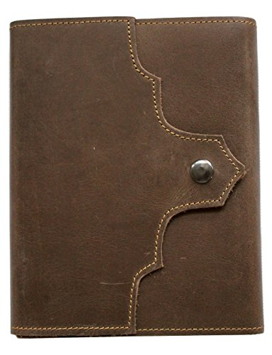 Antique Dark Brown Leather Journal Diary (Handmade)-Leather Cord Coptic Bound 25% Off Sale + Special...