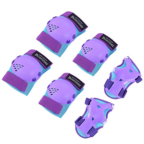 Kids/Youth Knee Pad Elbow Pads for Roller Skates Cycling BMX Bike Skateboard Inline Rollerblading,...